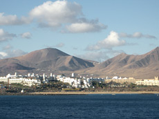 Playa Blanca on Lanzarote