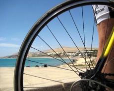 ALT: Cycling on Fuerteventura