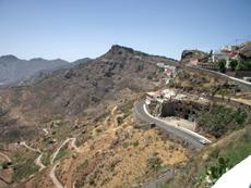 Gebirge von Gran Canaria