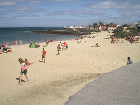 Corralejo on Fuerteventura Topography including position plan and