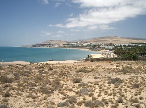 Costa Calma bay