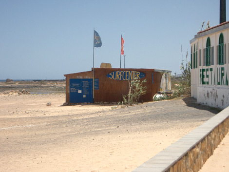 Surfing centre in Caleta de Fuste