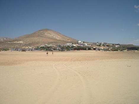 View of Risco del Paso