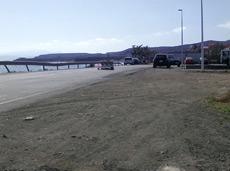 Car park at Tarajalejo beach