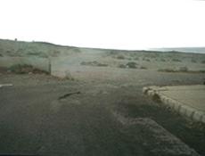 Anfahrtsweg zum Strand von La Pared