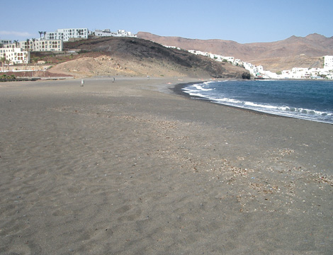 Las Playitas beach