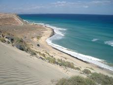 Strand von El Salmo