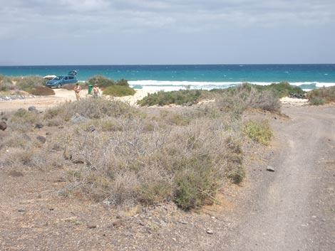 El Salmo beach