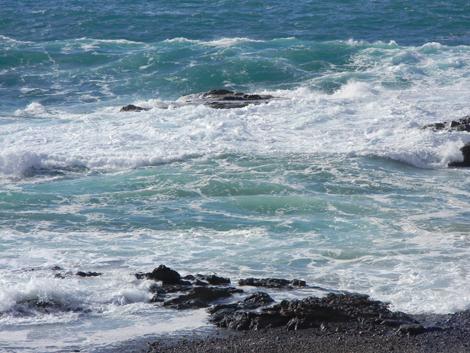 Felsbrocken im Wasser