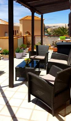 Appartement Meerblick Unterkunft auf Fuerteventura