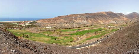 Golfplatz in Jandía auf Fuerteventura
